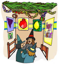 Witches in Sukkah
